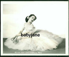 LORETTA YOUNG VINTAGE 8X10 PHOTO AS A BALLERINA 1941 THE MEN IN HER LIFE