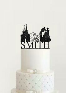 Personalized Wedding Cake Topper Cinderella and Prince Charming Mr and Mr