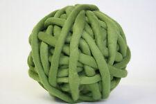 1kg Coloured Merino felted super chunky Nundle wool vine knitting Olive