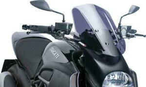 Puig Touring Windscreen Dark Smoke #5655F Ducati Diavel
