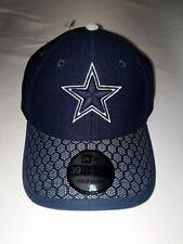 YOUTH Dallas Cowboys Cap New Era 39Thirty Stretch 2017 On Field Sideline Hat  NFL 9337e3f184e
