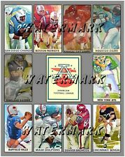 1960-69 American Football League Teams PRINT (comes in 3 sizes)