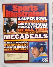 1996 Sports Illustrated Neil O'Donnell Steelers &  Wayne Gretzky St Louis Blues
