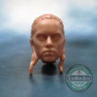 """ML242 Rey Skywalker Last Jedi Cast head sculpt use w/6"""" Star Wars Black Series"""