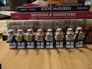 lego star wars minifigures Storm Trooper Lot (8) #75093