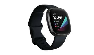 FITBIT SENSE Activity Tracker/Smartwatch - Carbon Black *BRAND NEW & SEALED*