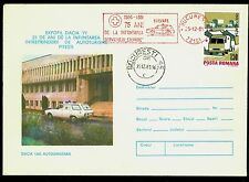 "1981/1977 Red Cross,Ambulance Service,Romania,Ambulance ""DACIA1300"",CDS,cover"