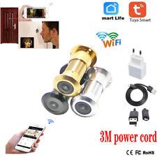 Mini CCTV 180 Degree IR Night Vision HD 1080P WiFi Door Eye Camera Bullet P2P