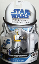Star Wars Yellow Clone Trooper Officer Legacy Collection Saga Legends SL12 NEW