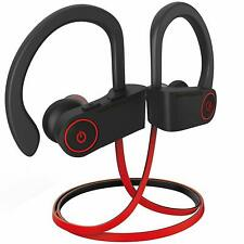 WIRELESS BLUETOOTH HEADSET HEADPHONE WITH MIC FOR SAMSUNG, iPHONES, MOTOROLA, LG