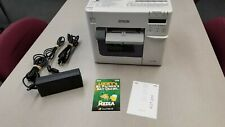 Epson TM-C3500 Color Label Printer - With Epson Warranty 2+ Years Until 4-3-22