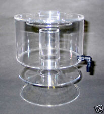 "6"" Collection cup  for Protein skimmer, DIY, Fits CPR SR6, SR9, CY194, CY294"