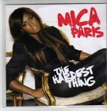 (CP984) Mica Paris, The Hardest Thing - 2009 DJ CD