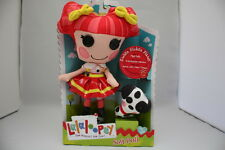 LALALOOPSY SOFT DOLL EMBER FLICKER FLAME W/ PET DALMATION MIP SEW MAGICAL