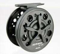 OKUMA AIRFRAME FLY FISHING REEL 7/9 + 3 SPARE SPOOLS TROUT PIKE DAMSEL NYMPH