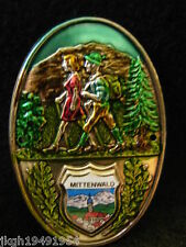 Mittenwald Germany badge stocknagel medallion G9967