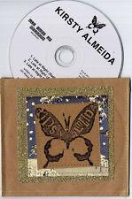 KIRSTY ALMEIDA Late At Night 2011 UK 3-track promo CD handmade sleeve