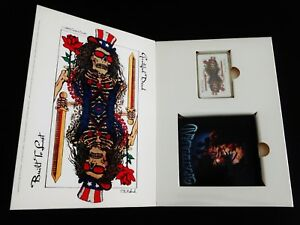 Grateful Dead Dead In A Deck Playing Cards Picture Disc CD Built To Last Box Set