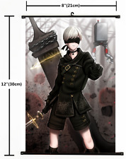 Anime NieR Automata RepliCant YoRHa No.9 Wall Scroll Home Decor cosplay 2160