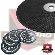 "NEIKO 11054B - 10 PIECE Cut-Off Wheels, Metal 3"" x 1/32"" x 1/4"" Arbor 60 Grit"