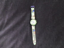 Vtg RARE 90's Swatch Scuba 200 Watch Dive in the Coral Reef Frog swamp band 5727