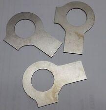 3 x Titanium locking plate / Titan Gr.2 Sicherungsblech  DIN 463 d1=17mm