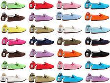 Patternless Women's Canvas Upper Deck Shoes