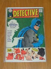 DETECTIVE COMICS #367 VG (4.0) DC COMICS BATMAN SEPTEMBER 1967