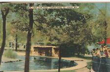 """*Missouri Postcard-""""Sea Lion Pool"""" ...Forest Park, St. Louis/"""
