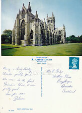 1981 EAST END SELBY ABBEY SELBY YORKSHIRE COLOUR POSTCARD