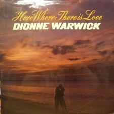 Dionne Warwick(Vinyl LP 1st Issue)Here Where There Is Love-Pye-UK-Ex/Ex-