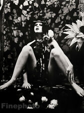 1974 Large Vintage IRINA IONESCO Photo Gravure ~ FEMALE Gothic Erotic Art France