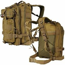 EDC Outdoor Military Tactical Backpack Rucksack Hiking Camp Travel Bag Tan