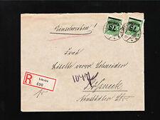 Germany Inflation 150,000 Mark Registered Lehesten K Oertel Slate Quarry 1923 ¼