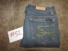 Women Seven 7 Flare Blue Jeans Size 27 Inseam 28