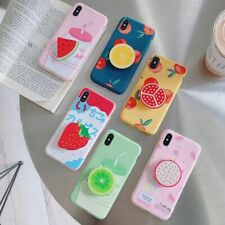 Fruity Phone Case Summer juicy Cute Cartoon Fruit Holder For iPhone 11 Pro Max