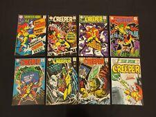 CREEPER 8 ISSUE COMIC RUN SHOWCASE #73 BEWARE THE CREEPER #1-7 SILVER AGE