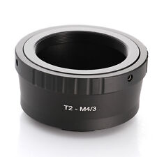 T2 T Mount Lens to Micro Four Thirds Micro 4/3 M43 Adapter EP5 E-PL7 GH4 GH5 GF6
