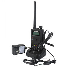 New Walkie-Talkie Retevis RT5 Dual Band UHF+VHF 7W128CH 1750Hz Two Way FM Radio
