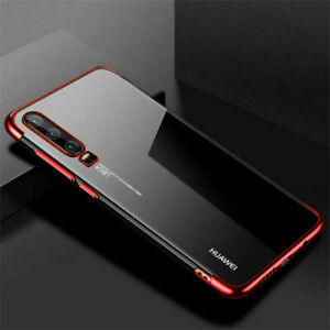 Case For Huawei P30 P40 Lite Pro Y6 P Smart 2019 Shockproof Protective Gel Cover