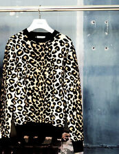 CELINE Phoebe Philo leopard sweater XS worn once