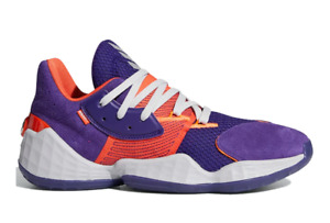 Adidas Harden Vol. 4 GCA Orange/Purple Basketball Sneaker Men's Size 8.5 #FW7495