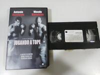 JUGANDO A TOPE ANTONIO BANDERAS WOODY HARRELSON VHS COLECCIONISTA CASTELLANO