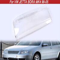 Car Headlight Headlamp Lens Case Cover Replacement For VW Bora Jetta MK4 98-05