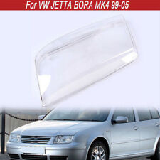 Car Headlight Headlamp Lens Case Cover Replacement For VW Bora Jetta MK4 98-05