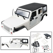 313MM Wheelbase Body Shell KIT for 1/10 RC Jeep Wrangler SCX10 II 90046 90047