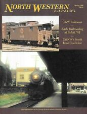North Western Lines C&NW V25 N2 1998 Galena Beloit CGW Caboose Iowa Coal Lies