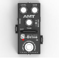 AMT Electronics S-Drive MINI (SD-2) – JFET distortion pedal - emulates Soldano