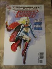 JUSTICE LEAGUE OF AMERICA #45 Supergirl Mack VARIANT 2010 DC Comics) VF/NM 9.0