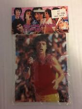 1983 Rolling Stones PUFFY STICKERS SHEET SEALED MICK JAGGER EX Condition PS2